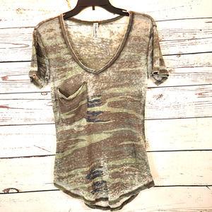 Others Follow Women's Burnout Distresed Shirt XS